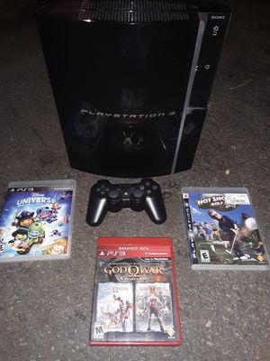PlayStation 3 w/3 games for Sale in Portland, OR