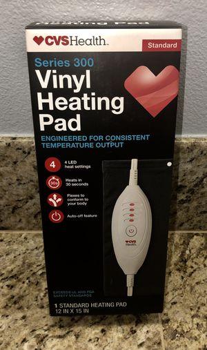 New CVS Vinyl Heating Pad for Sale in Hemet, CA