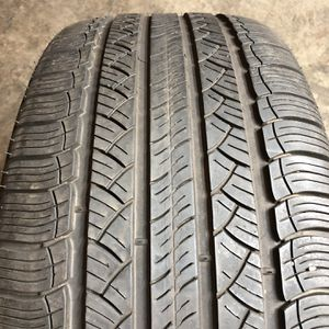 Set of 2 Used 255/55R18 Michelin Latitude Tour HP 75% Life for Sale in Cicero, IL