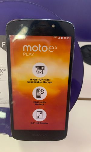 Moto E5 Play for Sale in West Point, MS