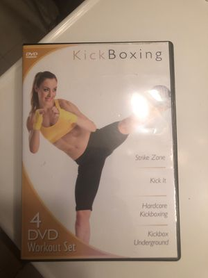 Kickboxing workout dvds for Sale in Cleveland, OH