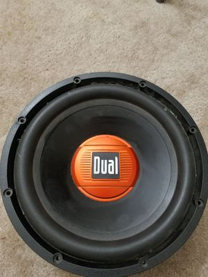 Dual subwoofer for Sale in Glen Burnie, MD