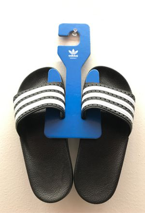 Adidas Slides Kids 3 / Women's 5 (made in Italy) for Sale in Land O Lakes, FL