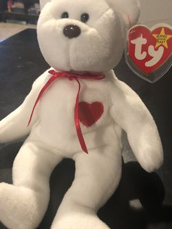 1994 Rare Valentino Beanie Baby with PVC Pellets And Spelling Errors for Sale in Normandy Park,  WA
