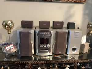 7 piece stereo system for Sale in Willow Springs, IL