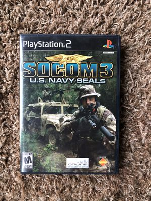 PS2 Socom 3: US Navy Seals for Sale in Ontario, OR