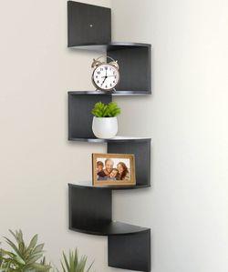5 Tier Wall Mount Corner Shelves, Home Decor Hanging Shelves for Sale in Corona,  CA