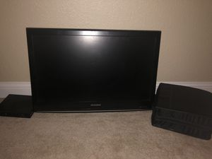 Television, DVD Player, DVDs & holder for Sale in Virginia Beach, VA