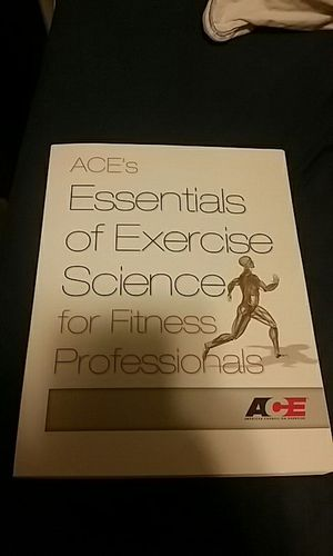 ACE Personal Trainer Manual bundle for Sale in Seattle, WA