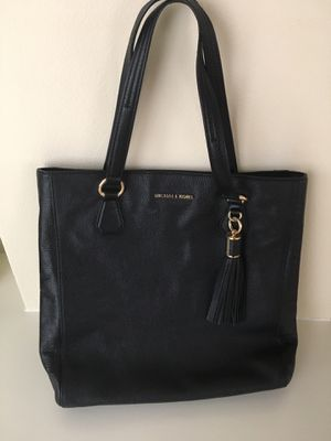 Travel large Carryall Tote Shoulder Leather Bag for Sale in Central Houghton, WA