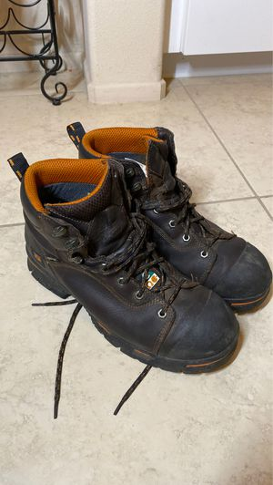 Men's Timberland PRO 52562 Endurance 6-Inch Steel Toe Work Boots Size 12 wide for Sale in Temecula, CA