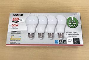 Satco 4 bulbs (800 lumens) new for Sale in Auburn, WA
