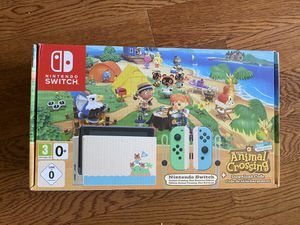 NEW and SEALED Animal Crossing Nintendo Switch Console + Game Code for Sale in Santa Monica, CA