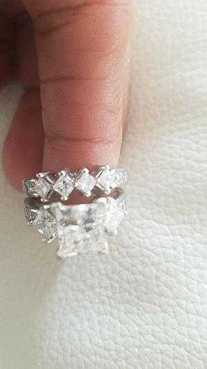 Princess cut Diamond Engagement &wedding Ring for Sale in Alexandria, VA