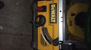 Dewalt table saw for Sale in Peoria, IL