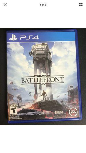 Star Wars: Battlefront (Sony PlayStation 4, 2015) for Sale, used for sale  College Park, GA