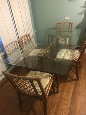 Dining Room Set Table With 4 Chairs for Sale in Philadelphia, PA