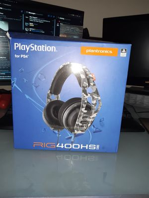 RIG400HS Camo Headset for Playstation 4 for Sale in Port St. Lucie, FL