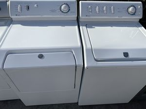 MAYTAG HEAVY DUTY TOP LOAD WASHER AND DRYER SET for Sale in La Puente, CA