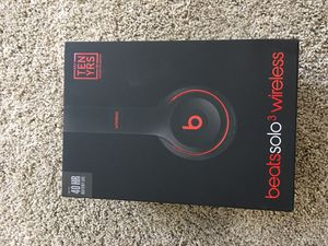 beats solo 3 wireless decade edition for Sale in Lutz, FL