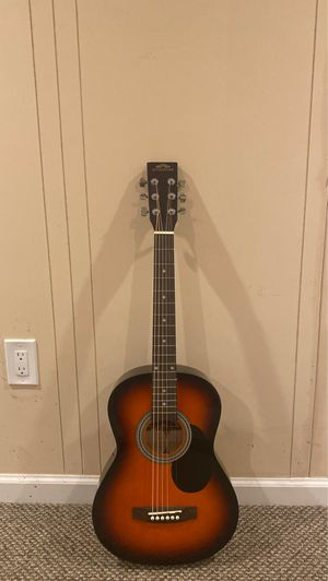 Guitar with bag , tuner and pick for Sale in Philadelphia, PA