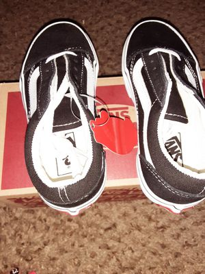 Vans kids 11.5 size 45 or obo for Sale in Albuquerque, NM