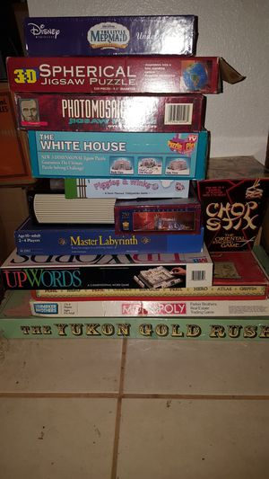 Board games and puzzles for Sale in Seattle, WA