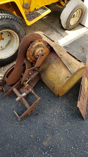 Vintage John Deere Tractor Rear Rototiller Model E30 for Sale in Algonquin, IL