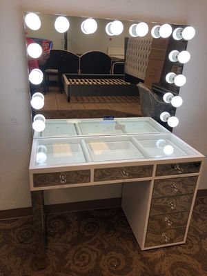 Impressions vanity with Bluetooth mirror brand new for Sale in Phoenix, AZ