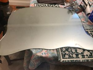 Antique Mirror made by Pittsburgh plate glass co. 1943 for Sale in Dedham, MA