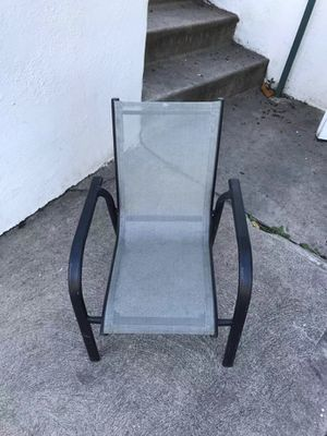 Outdoor metal chair for Sale in Los Angeles, CA