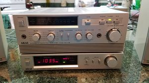 Vintage (1981-82) AKAI stereo system for Sale in Manassas, VA