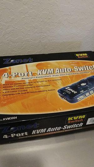 Zonet KVM Switch (RGB)/PS2 for Sale in Princeton, FL