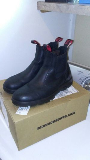 Redback Work Boots UBBK slip-on US 12.5 for Sale in Tacoma, WA