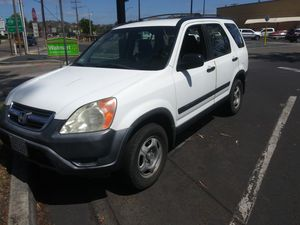 2004 Honda CRV smogged new 2020 registration must sell today for Sale in Escondido, CA