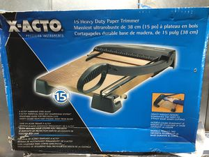 "X-ACTO 15"" Heavy Duty Paper Trimmer New for Sale in San Diego, CA"