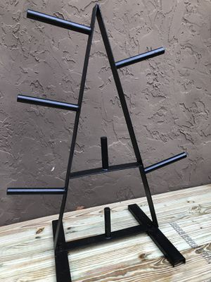 Weight Rack Tree for Standard Size Plates for Sale in Pembroke Pines, FL