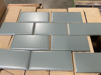 """3 X 6"""" Subway Tile (Willow) for Sale in Portland,  OR"""