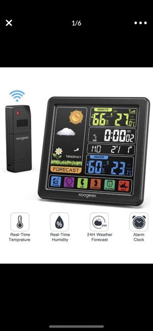 Brand new thermostat and weather station for Sale in Redmond, WA