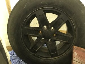 6 lug bolt pattern Rims for a pickup for Sale in Caro, MI