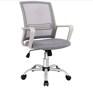 SMUGDESK Office Chair, Mid Back Mesh Office Computer Swivel Desk Task Chair, Ergonomic Executive Chair with Armrests for Sale in Fresno, CA