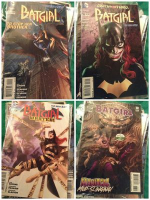 Batgirl Comic Book combo of 4 for Sale in US