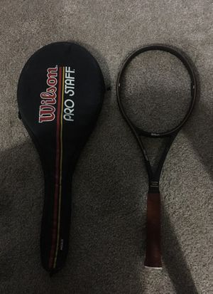 Wilson pro staff tennis racket and bag for Sale in Portland, OR