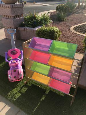 Toy storage set & stroller for Sale in Phoenix, AZ