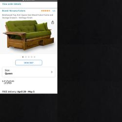 Futon Frame for Sale in Baltimore,  MD