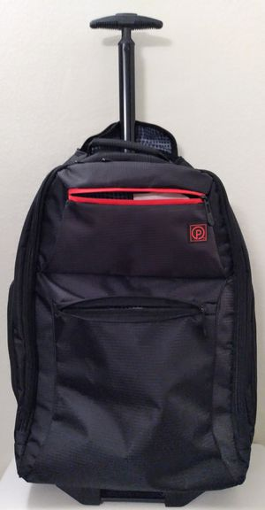 "BRAND NEW! NEVER USED! WEEKENDER 24"" ROLLING BACKPACK CARRY-ON WITH PULL-UP HANDLE for Sale in HUNTINGTN BCH, CA"