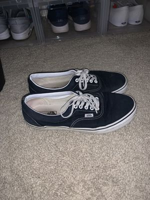 Vans era navy blue size 10.5 mens used for Sale in Los Angeles, CA