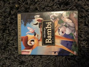 Bambi Platinum Edition DVD for Sale in Eatonton, GA