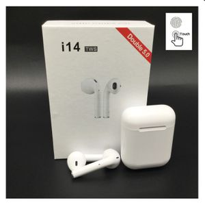 I14 Tws Wireless Bluetooth 5.0 Touch Control Earphones Headsets For Iphone and Android for Sale in Anaheim, CA