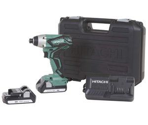 🔥 Hitachi Metabo HPT WH18DGLM 18V Lithium Ion 1/4 Impact Driver + 2 Batteries, Charger and Hard Case 🔥 for Sale in Miramar, FL